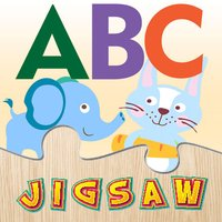 Alphabet Preschool Learning Educational Puzzles for Toddler - Teachme ABC animals endless fun