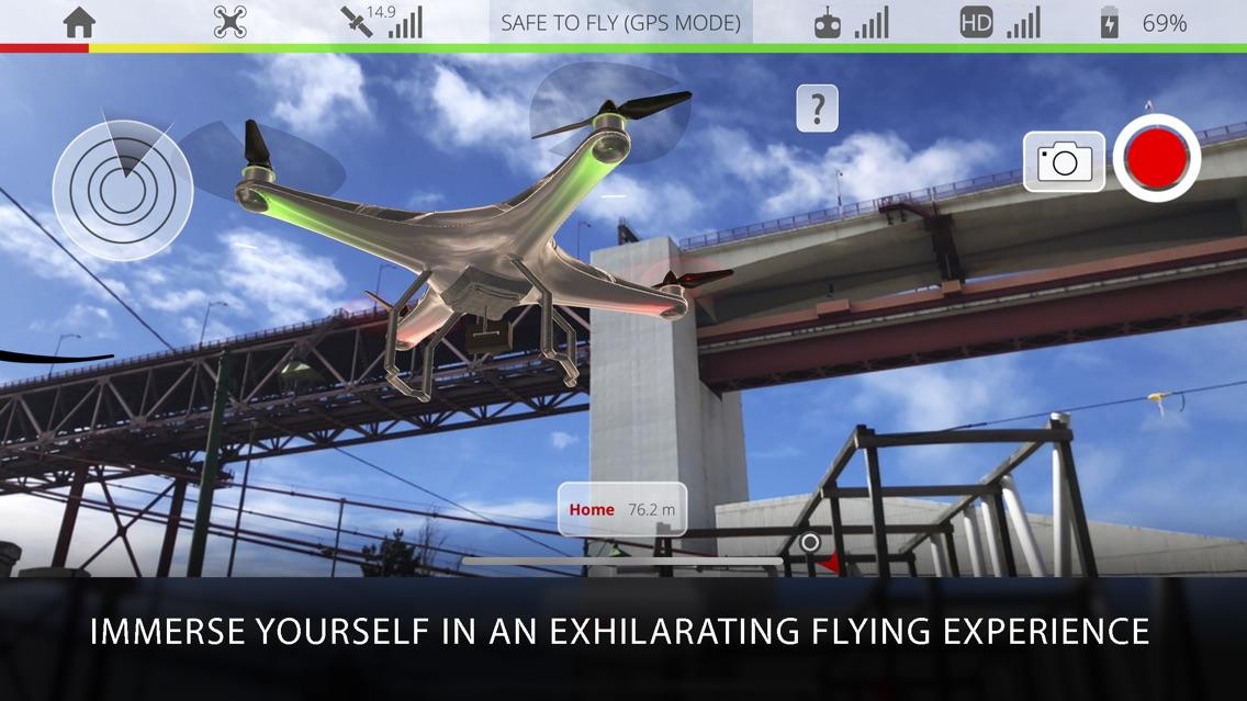 Dronetopolis: Drone Simulator App for iPhone - Free Download