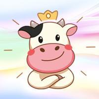 Milky Cow! Stickers