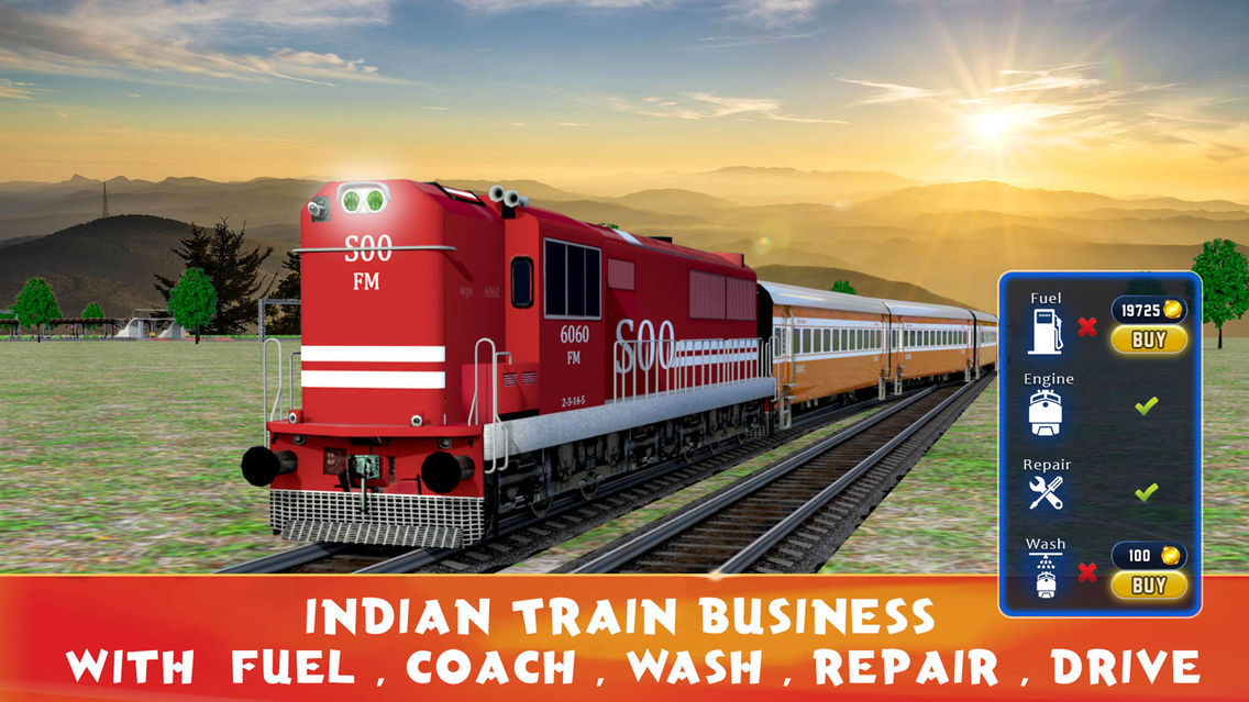Indian Train Business App for iPhone - Free Download Indian