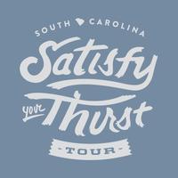 SC Satisfy Your Thirst Tour
