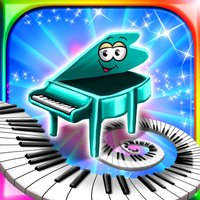 1st Piano : Cartoon Music Lessons - Nursery Rhymes Follow Me Teacher