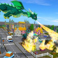 Flying Dragon Fire City Attack