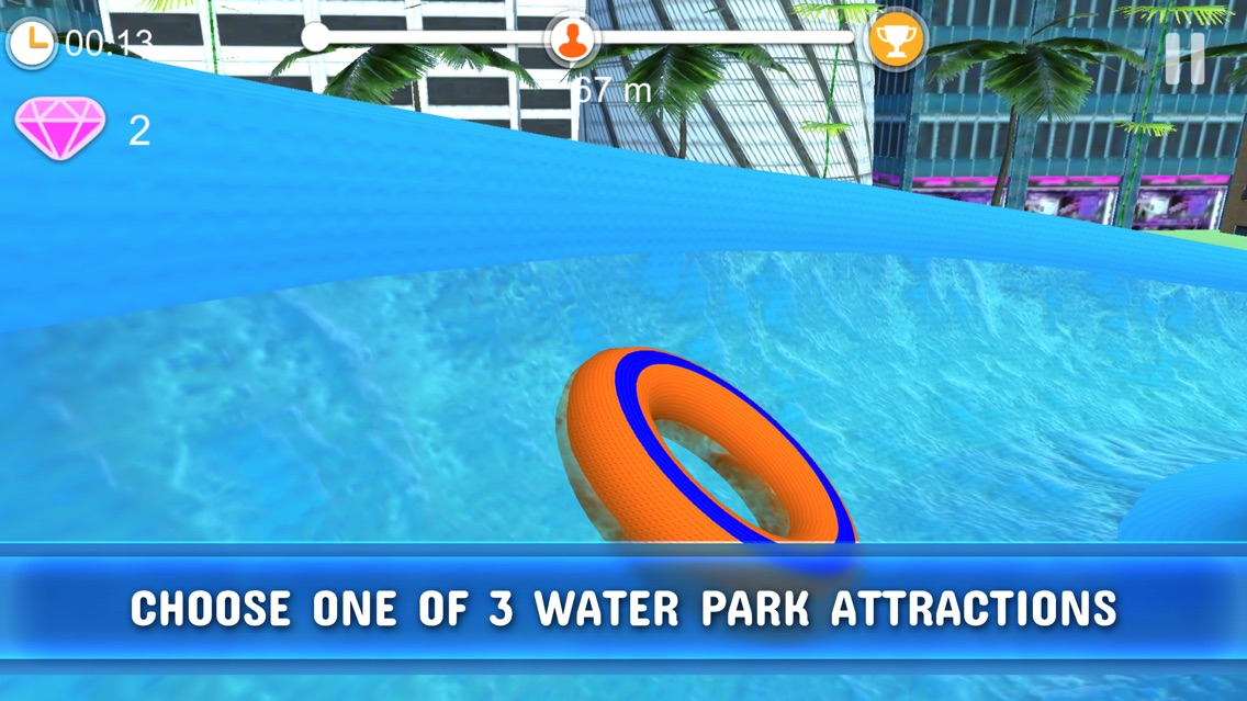 Roller Coaster 3D - Water Park App for iPhone - Free Download Roller