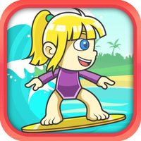 Wild Surfer Girls - Wet Tidal Wave of Fun Race Adventure