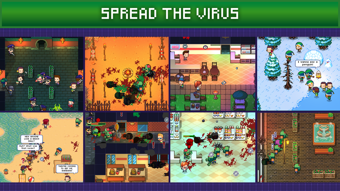 Infectonator 3: Apocalypse App for iPhone - Free Download