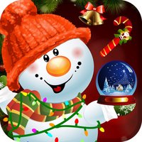 Design and Build My Frozen Snowman Christmas Creation Game - Free App
