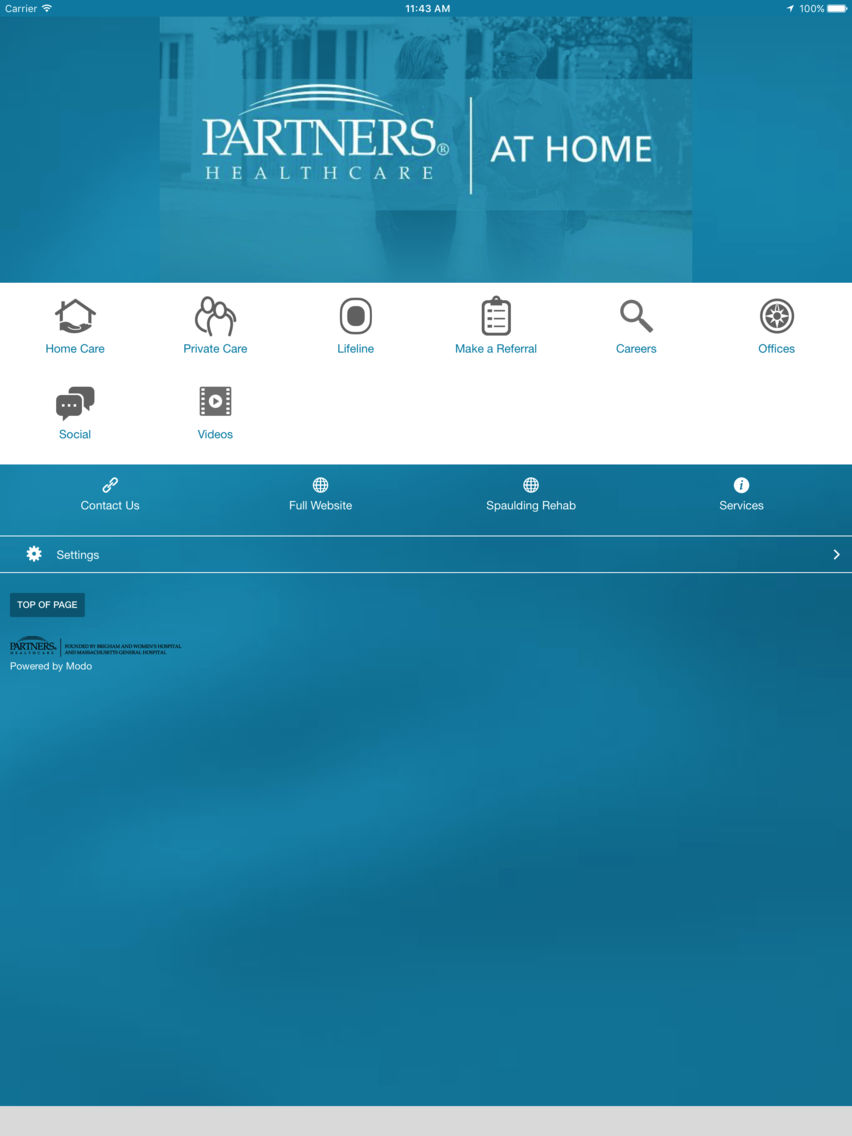 Partners HealthCare at Home App for iPhone - Free Download Partners