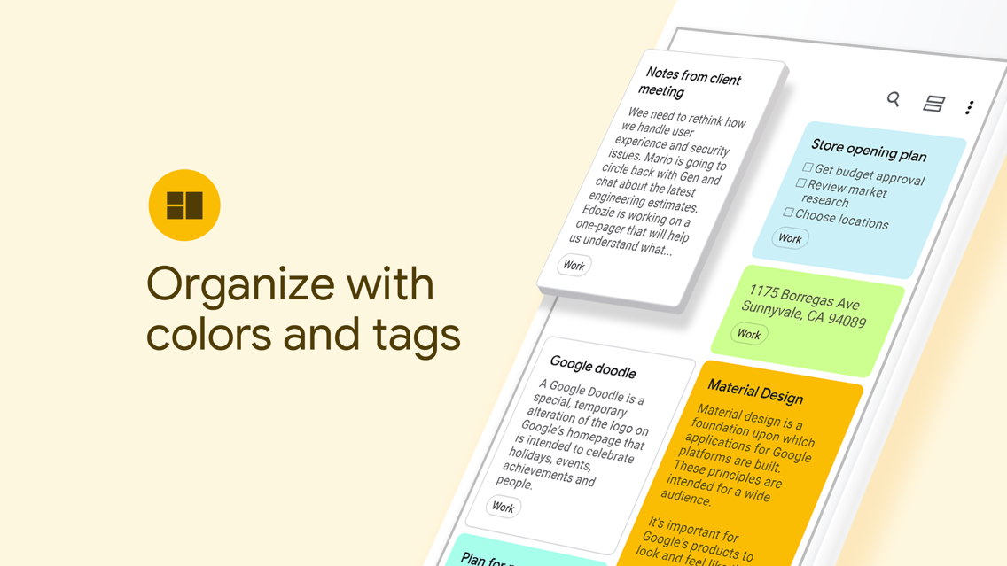 Google Keep - Notes and lists App for iPhone - Free Download Google