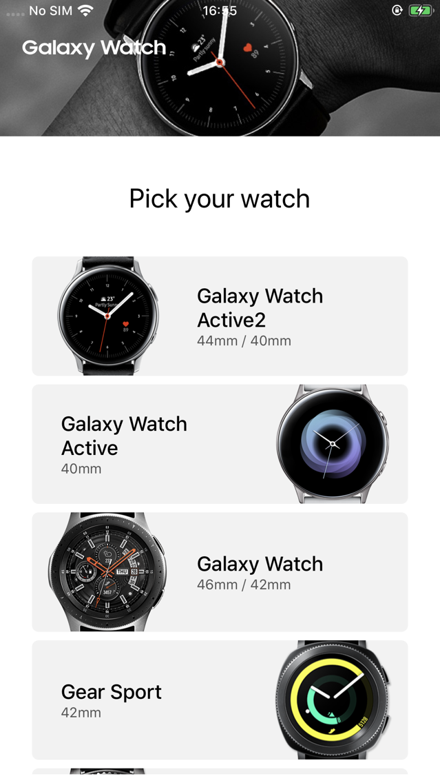 separation shoes 6a253 1a2b2 Samsung Galaxy Watch (Gear S) App for iPhone - Free Download Samsung ...