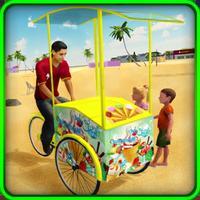 Beach Ice Cream Man Cone Maker