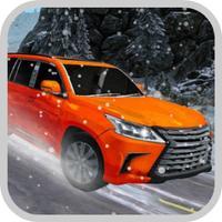 Car Offroad Winter Prado Drivi