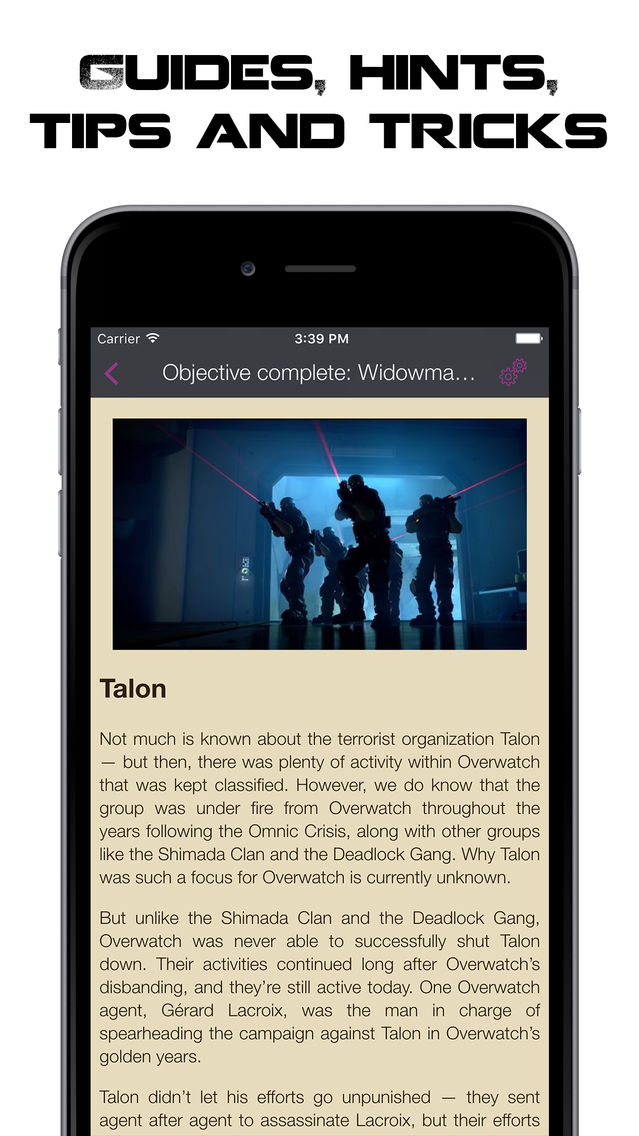Pocket Wiki for Overwatch App for iPhone - Free Download