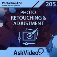 AV for Photoshop CS6 205 - Photo Retouching and Adjustment