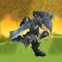 Knights Warriors Hunter vs Monsters Eternity World