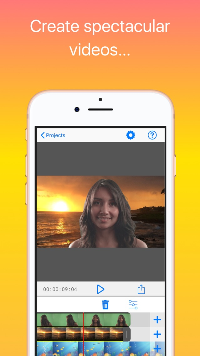 Veescope Live Green Screen App App for iPhone - Free