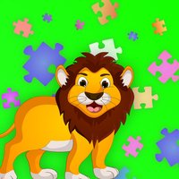 Zoo Animals: Puzzle for Kids