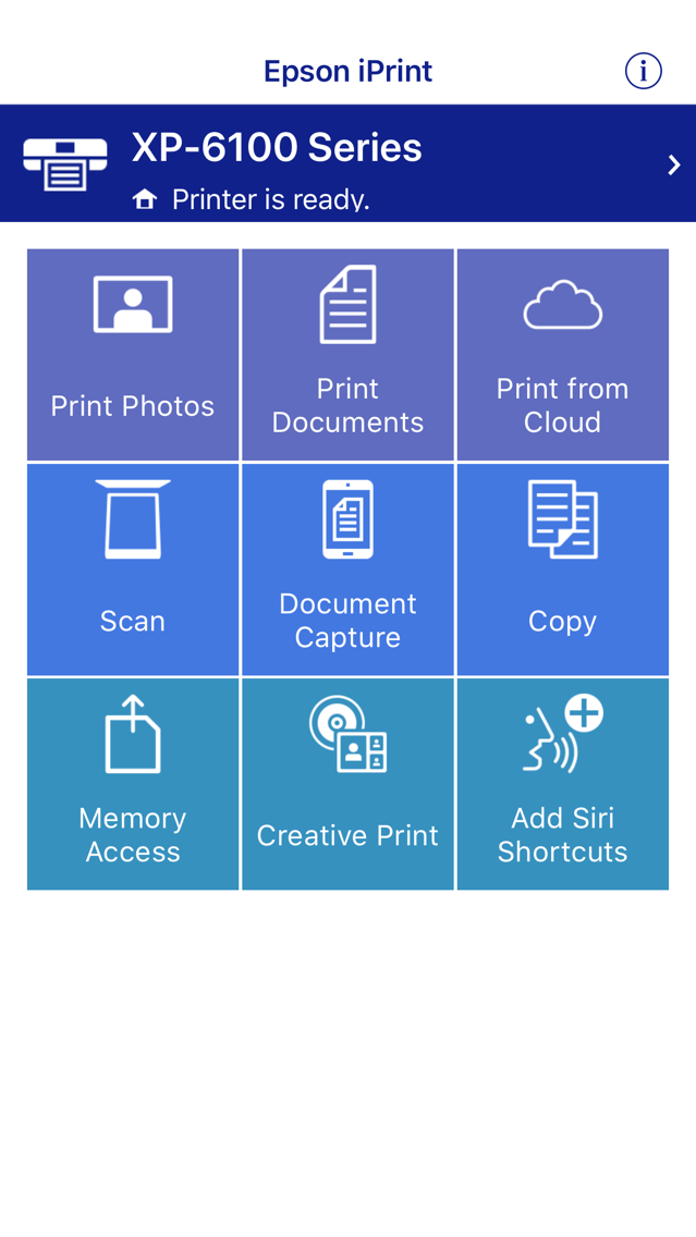 Epson iPrint App for iPhone - Free Download Epson iPrint for