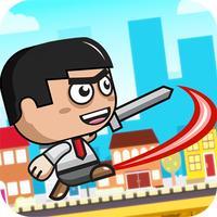 Mini Warrior vs Monsters - Run, Jump & Attack Game