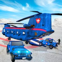 Police Helicopter Fly Rescue