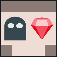 Gem Stealer - a maze/puzzle game with diamonds