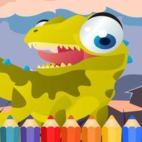 Dragon Dinosaur Coloring Book hd for kids free