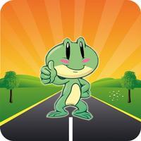 Funny Crossy - Frog Crossing