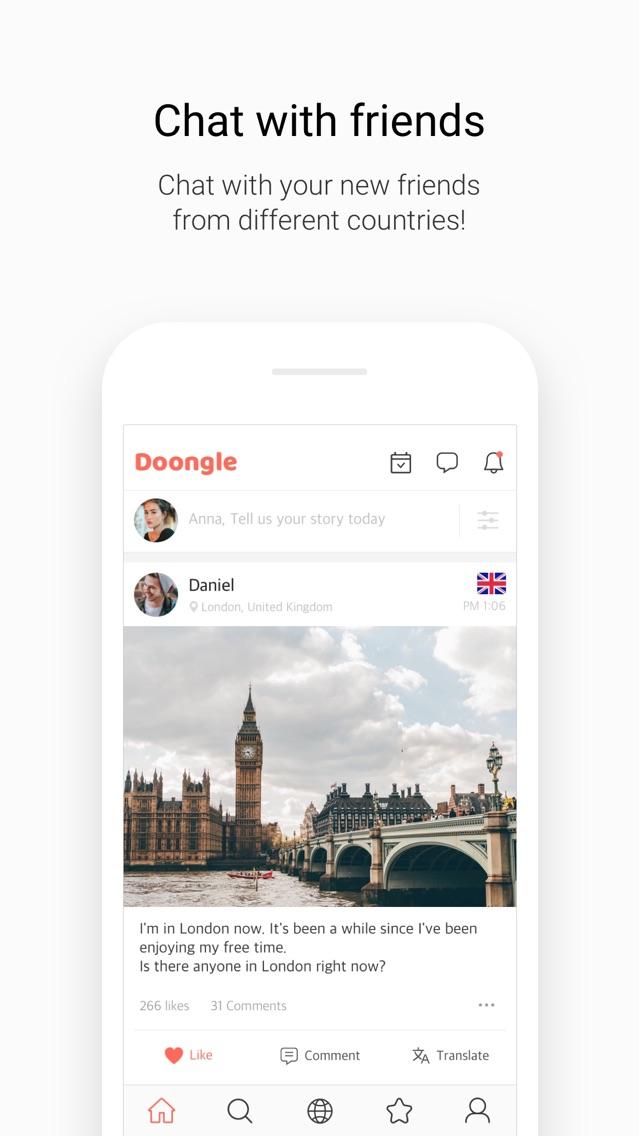 Doongle - 1Mil Global Penpal App for iPhone - Free Download Doongle