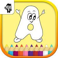 Alphabets Kids Coloring Book