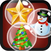 Christmas bubble shooter. An addictive bubble popping game for christmas eve