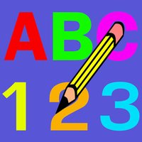 Write Alphabet ABC and Numers - Writing for Kids