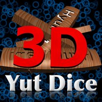 Real 3D Yut Dice