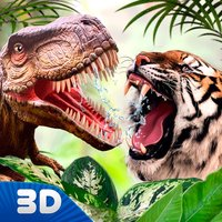 Tiger Vs Dino Kung Fu Fighting