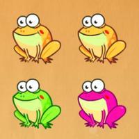 Frog force-jump battle pests
