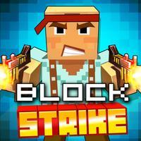 Pixel Block Strike 3D - Free sniper shooting games