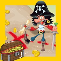 Car-ibbean Pirate-s with Hook-s in the Sea Kid-s Learn-ing Game-s