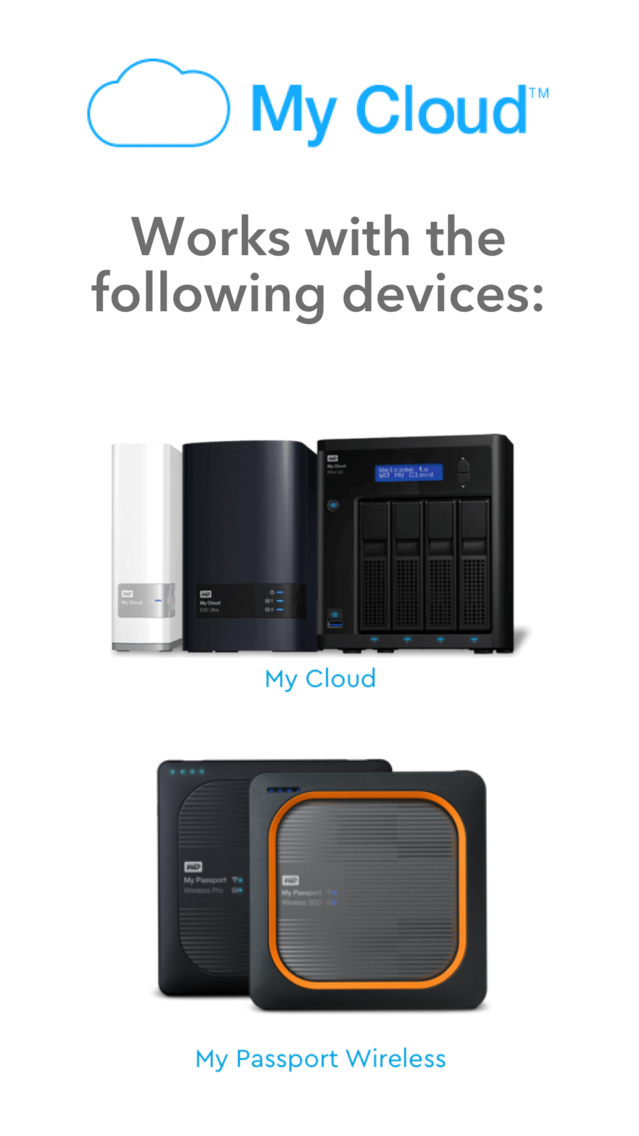 WD My Cloud App for iPhone - Free Download WD My Cloud for iPad