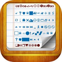 Super Symbols&Fonts  Keyboard with Cool Characters + Icons ToolBox