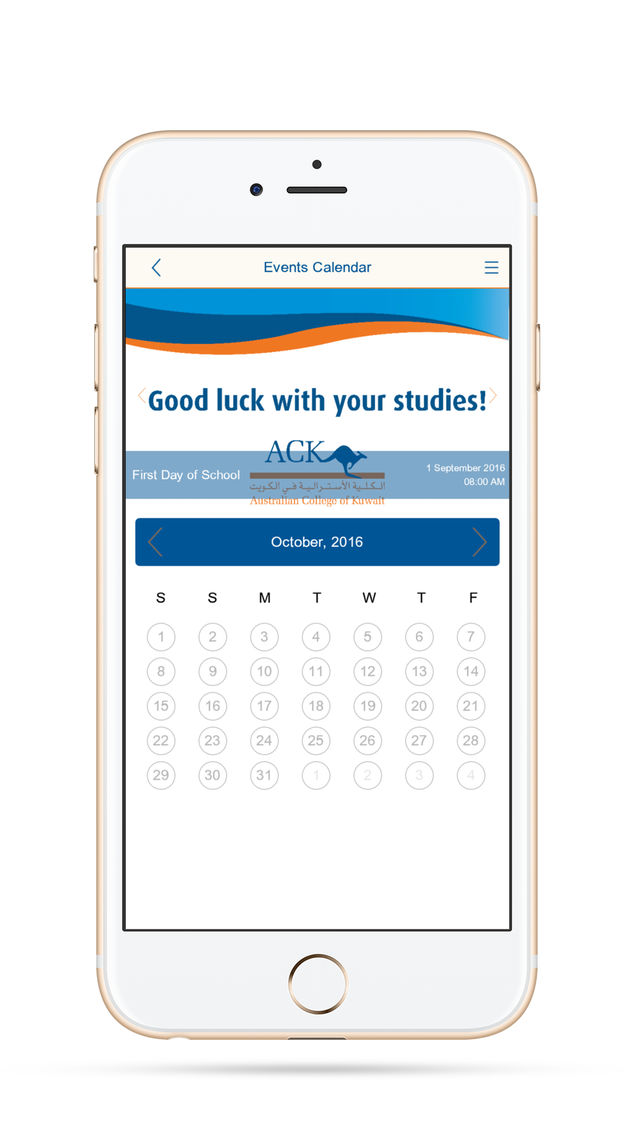 ACK Australian College Kuwait App for iPhone - Free Download ACK