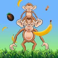 Funky Monkey Banana Junky