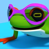 Laid-Back Frog