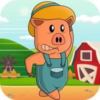 Bacon Runner Rush! - Tiny Ham Pig on the Run from Bad Piggies