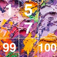 1 to 100 Pics Puzzle by Number
