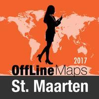 St. Maarten Offline Map and Travel Trip Guide