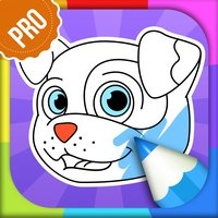 Dog Coloring Pages - Puppy Coloring Games for Boys and Girls PRO