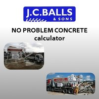 J.C.Balls & Sons Concrete Calculator