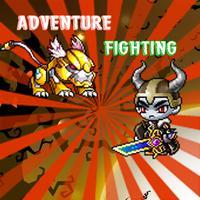 Adventure fighting games