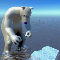 氷がない...。