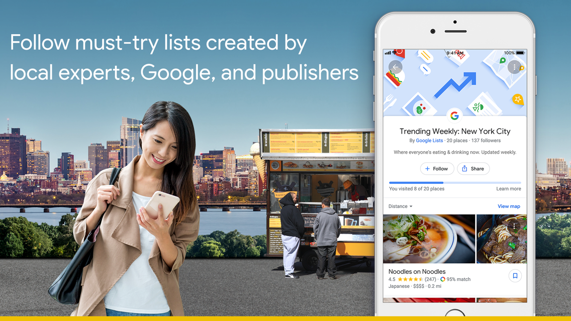 Google Maps - Transit & Food App for iPhone - Free Download Google on