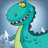 A Little Dino Frozen Trail FREE - The Baby Pet Dinosaur Game for Kids